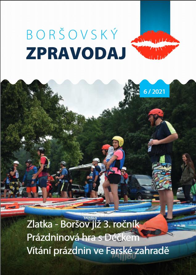 Boršovský zpravodaj 6/2021