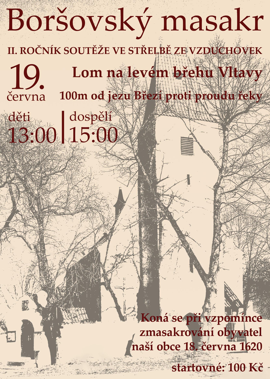 Boršovský masakr - II. ročník soutěže ve střelbě ze vzduchovky