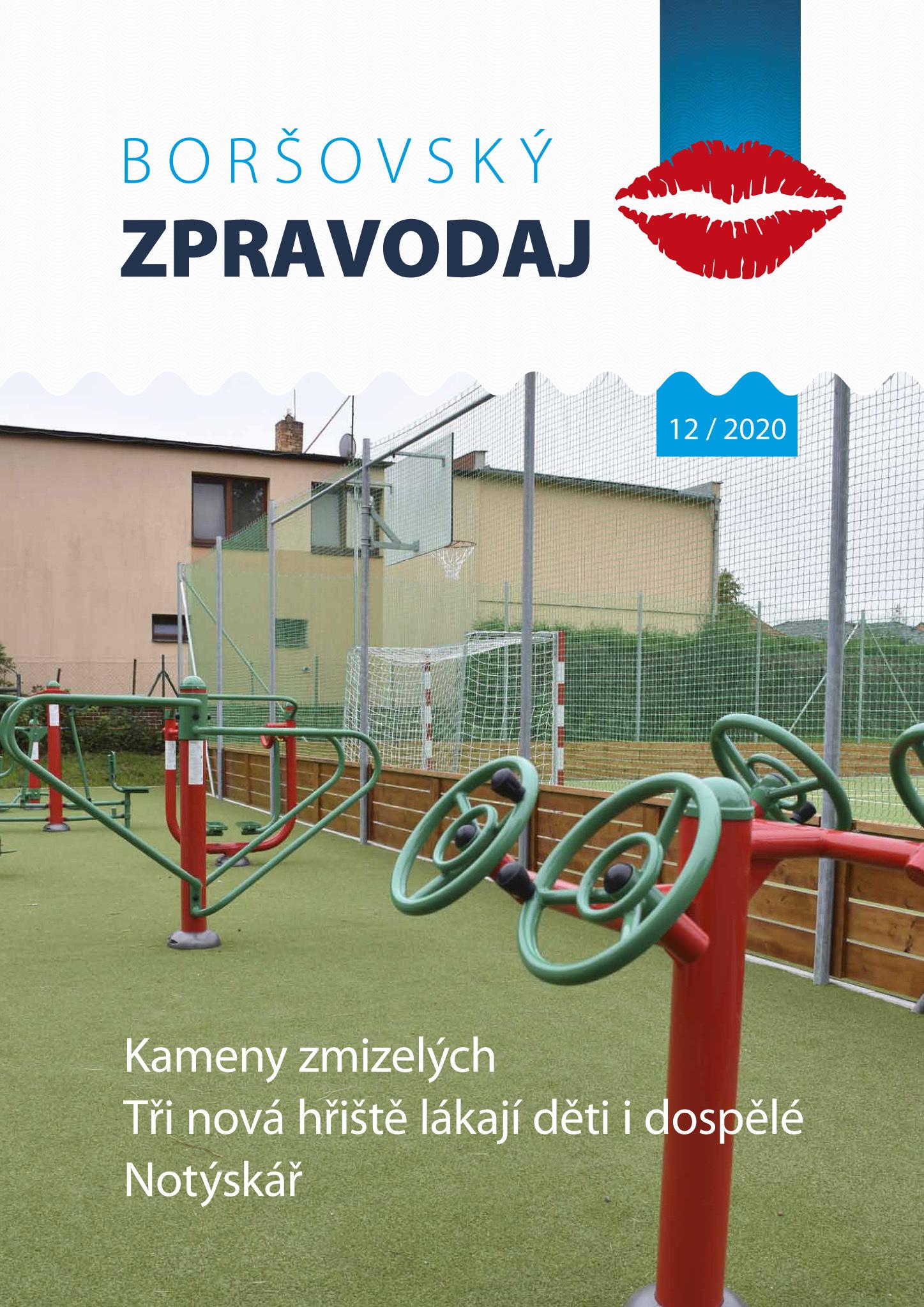 Boršovský zpravodaj 12/2020